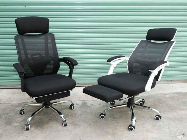 Ghế xoay văn phòng ngả nằm có gác chân TM808 giá rẻ