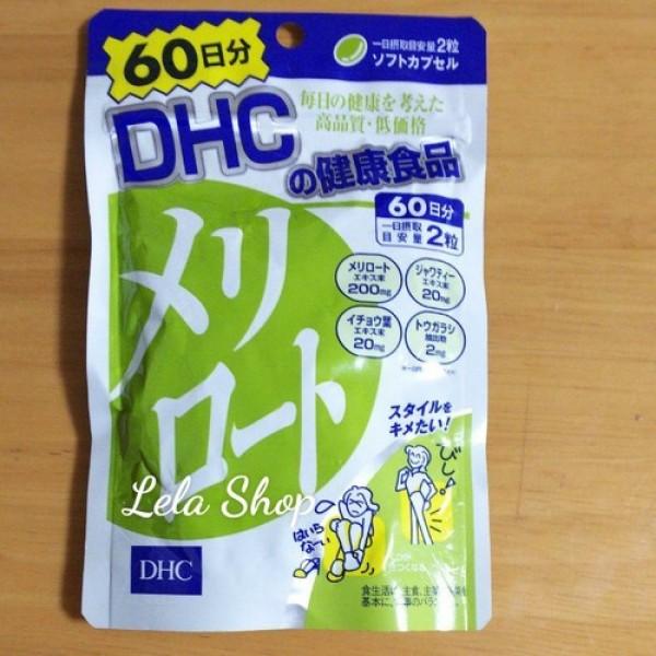 Viên Thon Gọn Đùi Và Giảm Mỡ Đùi DHC Nhật Bản 60 NGÀY