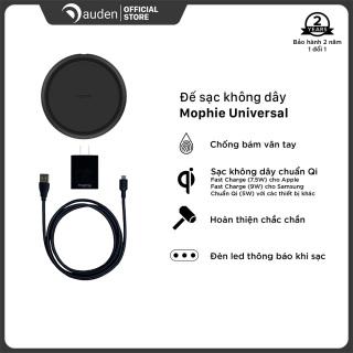 Đế sạc không dây Mophie Universal - BLK - 409901482 - Dâu Đen Store thumbnail