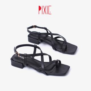 Giày Sandal Cao Gót 2cm Xỏ Ngón Pixie X737 thumbnail