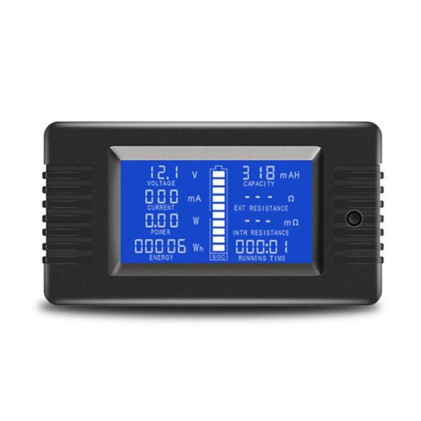 0-200V 300A Voltmeter Ammeter Digital Battery Tester Built-In Shunt Capacity Resistance Electricity Voltage Meter Monitor