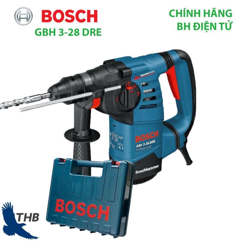Máy khoan bê tông Máy khoan Búa Bosch GBH 3-28 DRE Công suất 800W Bảo hành điện tử 12 tháng Mũi khoan búa 28mm