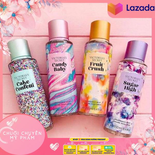 Xịt Thơm Toàn Thân Victoria's Secret Fragrance Mist (250ml) nhập khẩu