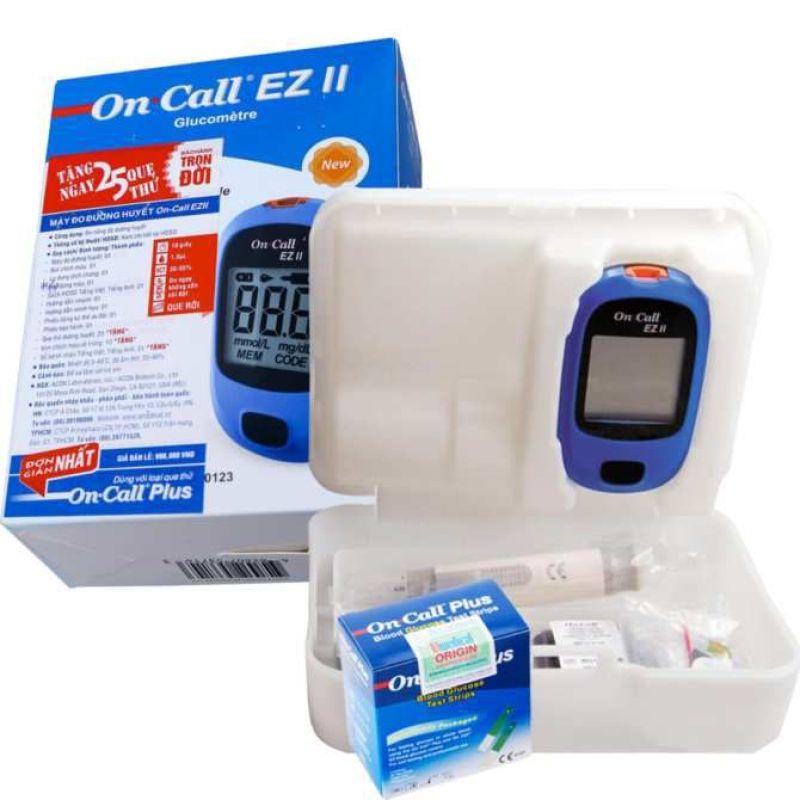 Máy đo đường huyết Acon On call EZ Tặng 25 test thử