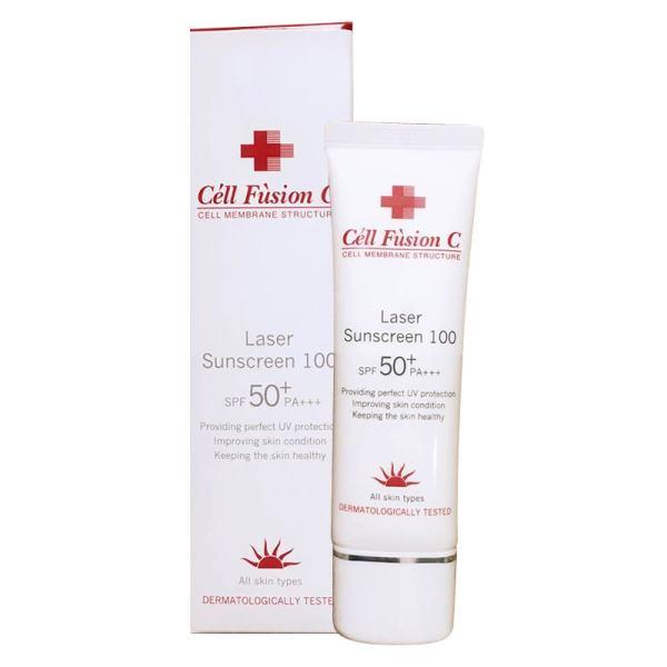 (HÀNG CHUẨN XỊN)Kem Chống Nắng Laser Sunscreen 100 Cell Fusion C SPF 50+ PA+++(50ML) - Dưỡng da và bảo vệ da tối đa với kết cấu mỏng nhẹ, khô ráo. nhập khẩu