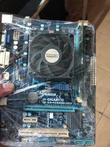 Giá Combo Main Chip AMD A8 5600k Hỗ Trợ Ram DDR3