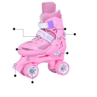 Giày patin 2 hàng đủ đồ bảo hộ thumbnail