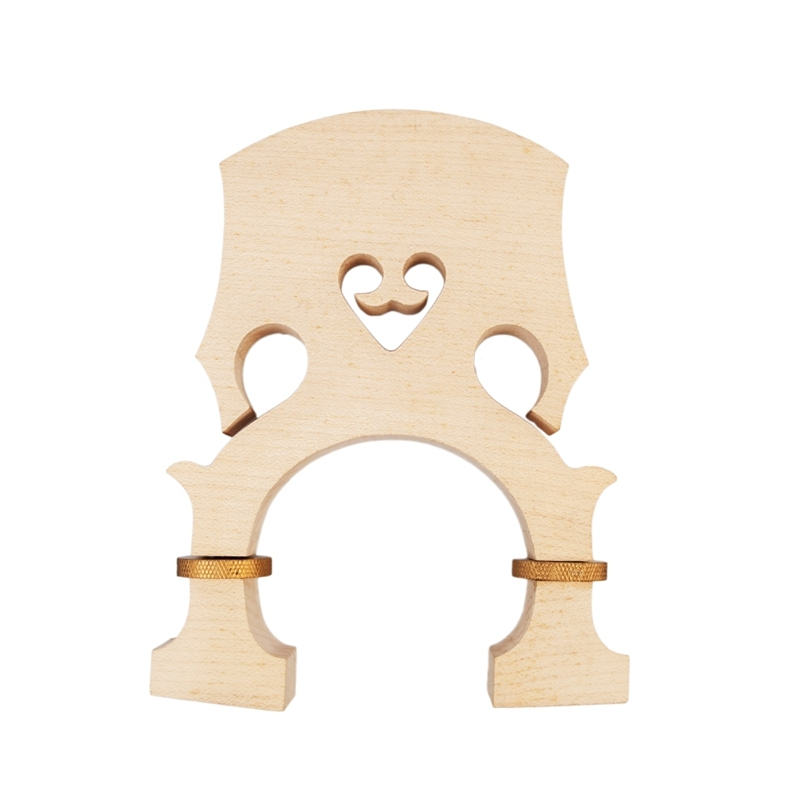 Bass Bridge 3/4 Standard Maple Bass Adjustable Bridge Bass Accessories Musical Instrument Accessories Malaysia