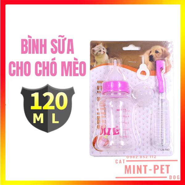 Bình Ti Bơm Sữa Cho Chó Mèo Sơ Sinh