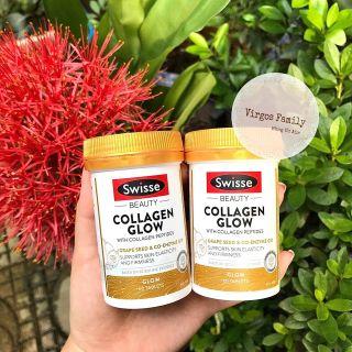 Viên bổ sung collagen Swisse Beauty Collagen Glow 60 viên thumbnail