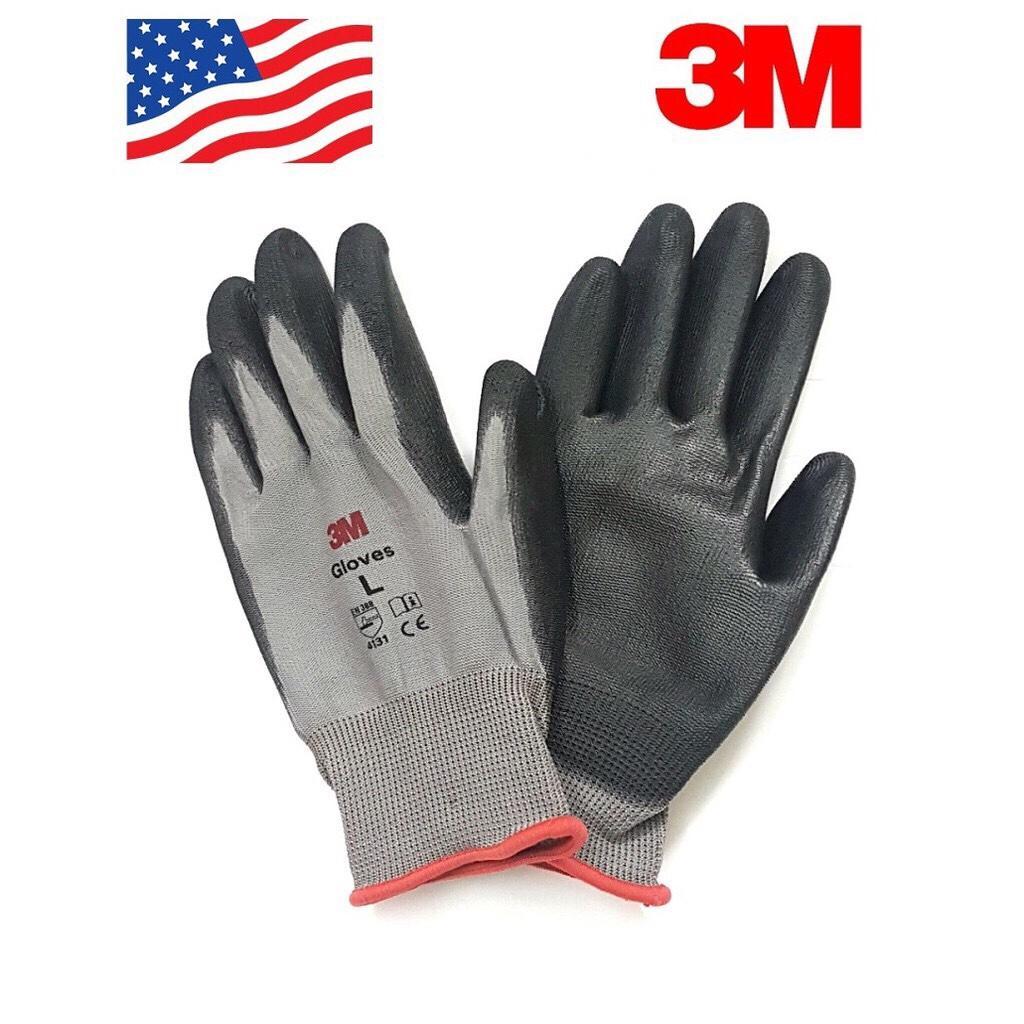5 Đôi Găng tay bảo hộ 3M cấp 1, màu xám, size L