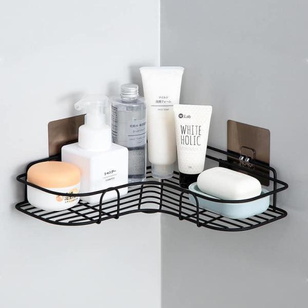 Kệ góc treo tường nhà tắm, giá để đồ phòng tắm