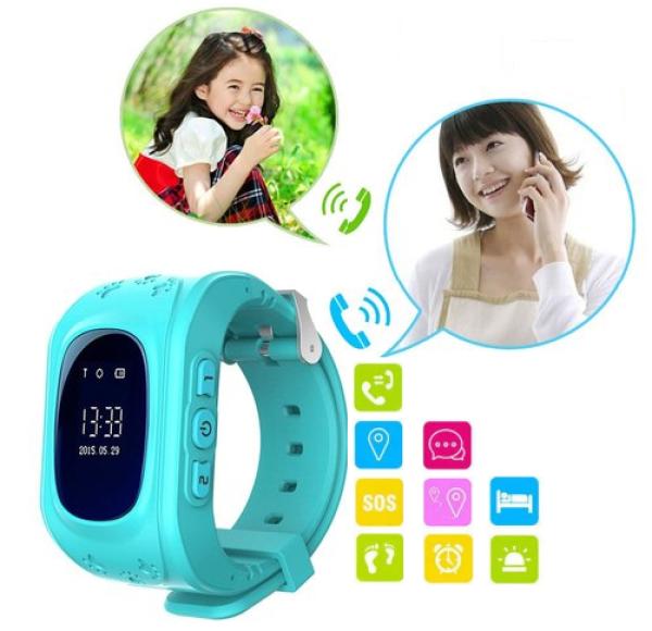 Đồng Hồ Định Vị Trẻ Em Thông Minh Q50 Bảo vệ  trẻ em bán chạy