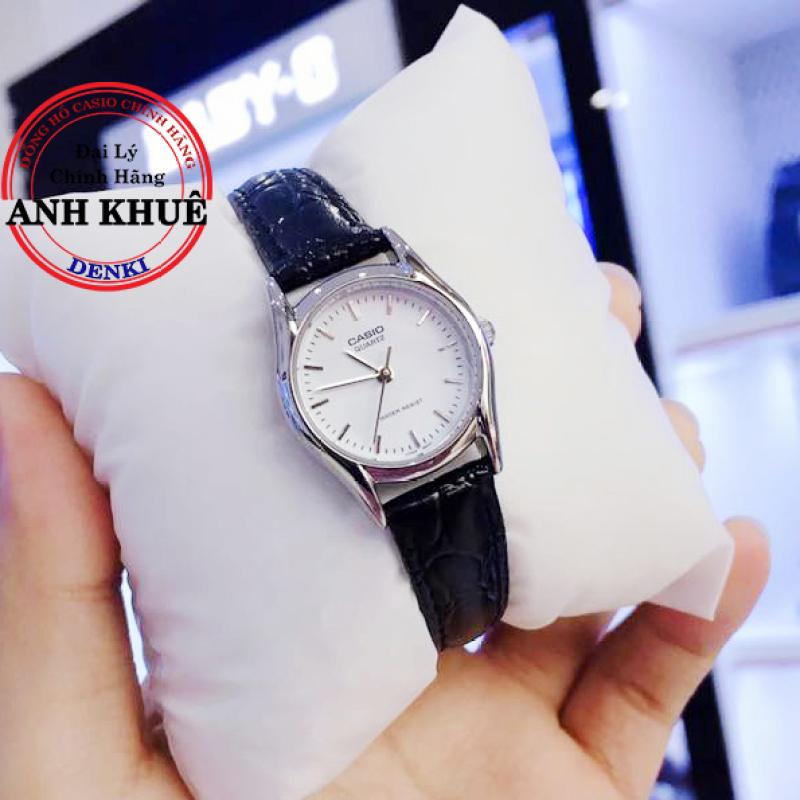 Đồng hồ nữ dây da Casio Standard Anh Khuê LTP-1094E-7ARDF