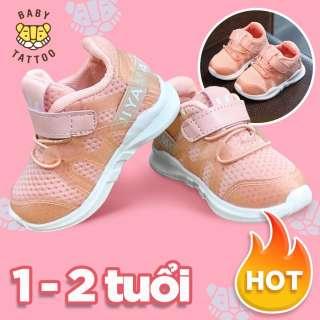 Giày thể thao trẻ em cho bé trai và bé gái siêu thoáng siêu mềm 1-2 tuổi