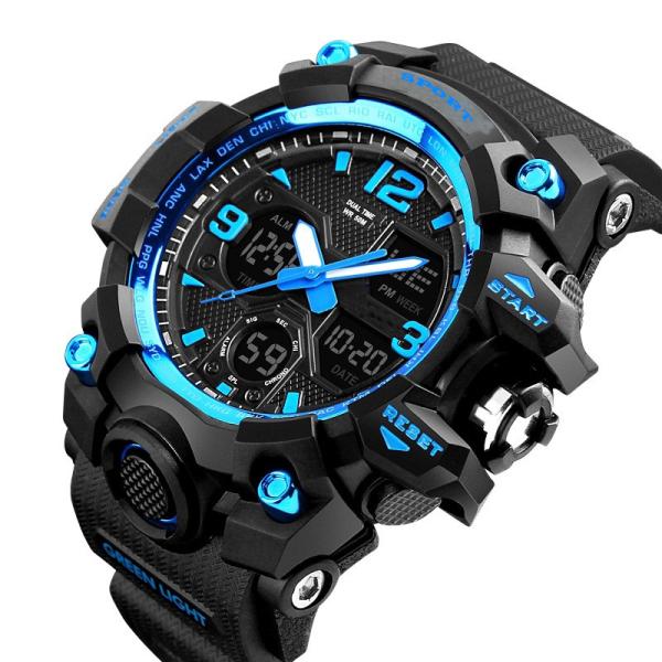 Đồng hồ nam Chống nước SPORT dáng thể thao đồng hồ điện tử chống bán chạy
