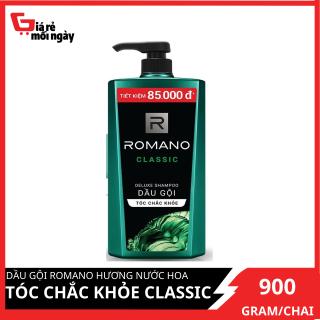 Dầu gội Romano Hương Nước Hoa Tóc Chắc Khỏe Classic 900g thumbnail