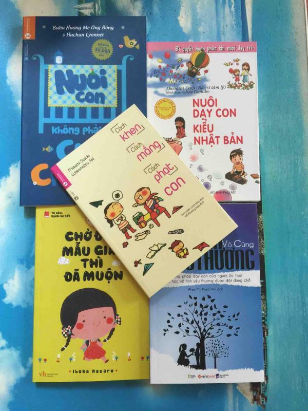 Combo 5 cuốn sách nuôi dạy trẻ cho bà mẹ trẻ