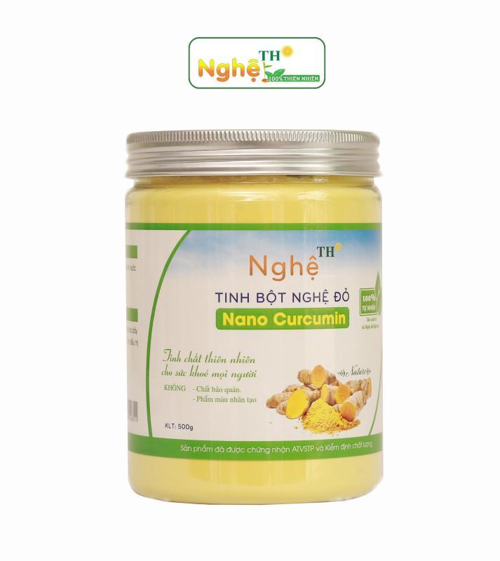 TINH BỘT NGHỆ ĐỎ NANO CURCUMIN 500g cao cấp