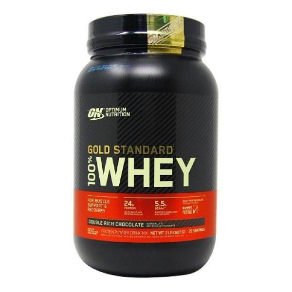 Thực phẩm bổ sung Optimum Nutrition Gold Standard 100% Whey 2lb
