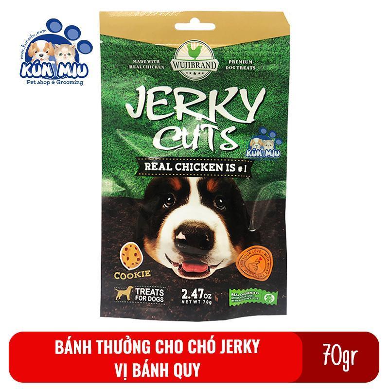 Bánh thưởng cho chó Jerky 70gr Vị bánh quy