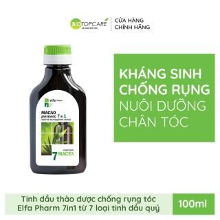 Tinh dầu chống rụng tóc 7 loại tinh dầu quý Elfa Pharm 7in1 100ml thumbnail