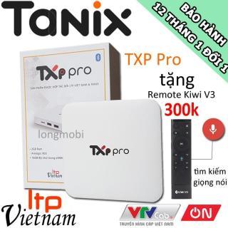 TXP Pro - TV BOX XEM TRUYỀN HÌNH MIỄN PHÍ 70 KÊNH CƠ BẢN, TẶNG REMOTE KIWI V3 thumbnail