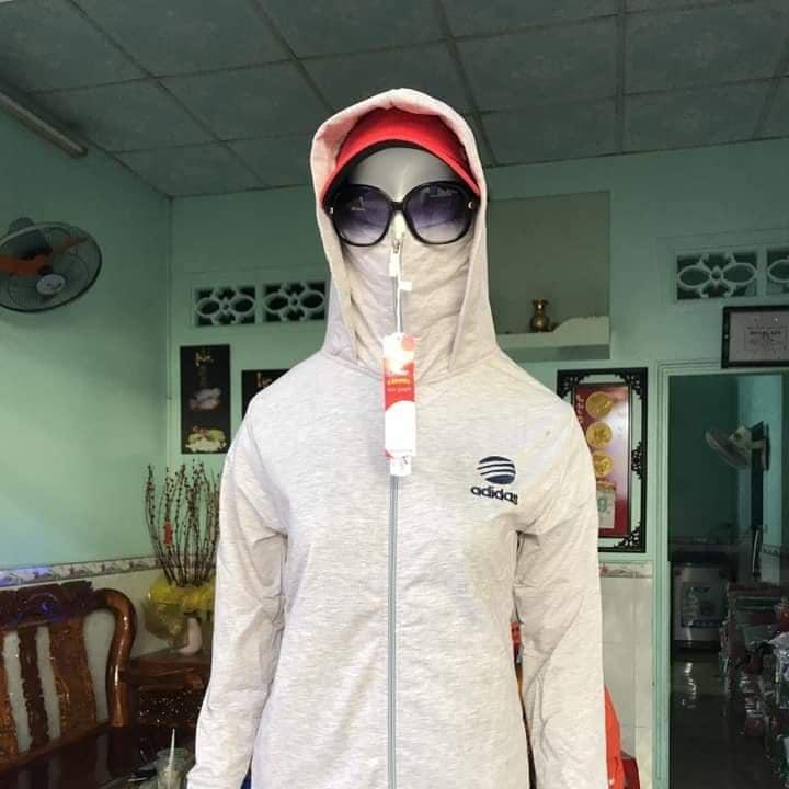 Áo khoác chống nắng 3 in 1 Adias thun mịn Hoavoan shop