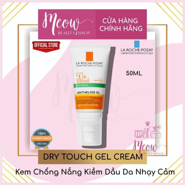 La Roche-Posay - Kem chống nắng giúp kiểm soát bóng nhờn & bảo vệ da Anthelios XL Dry Touch 50ml
