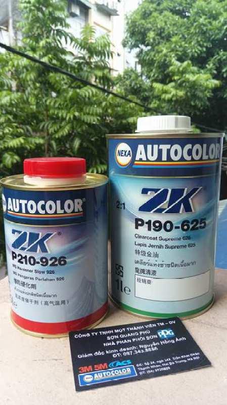 1 bộ đầy đủ Dầu bóng cao cấp Nexa Autocolor 625 1L và 926 0.5L