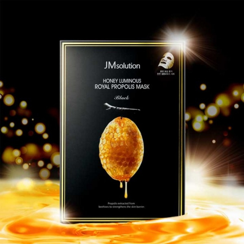 Mặt Nạ JMsolution Honey Luminous Royal Propolis Mask Sáp Ong 20ml