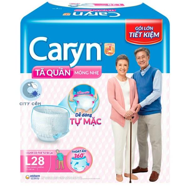 Tã quần người già Caryn L28 giá rẻ