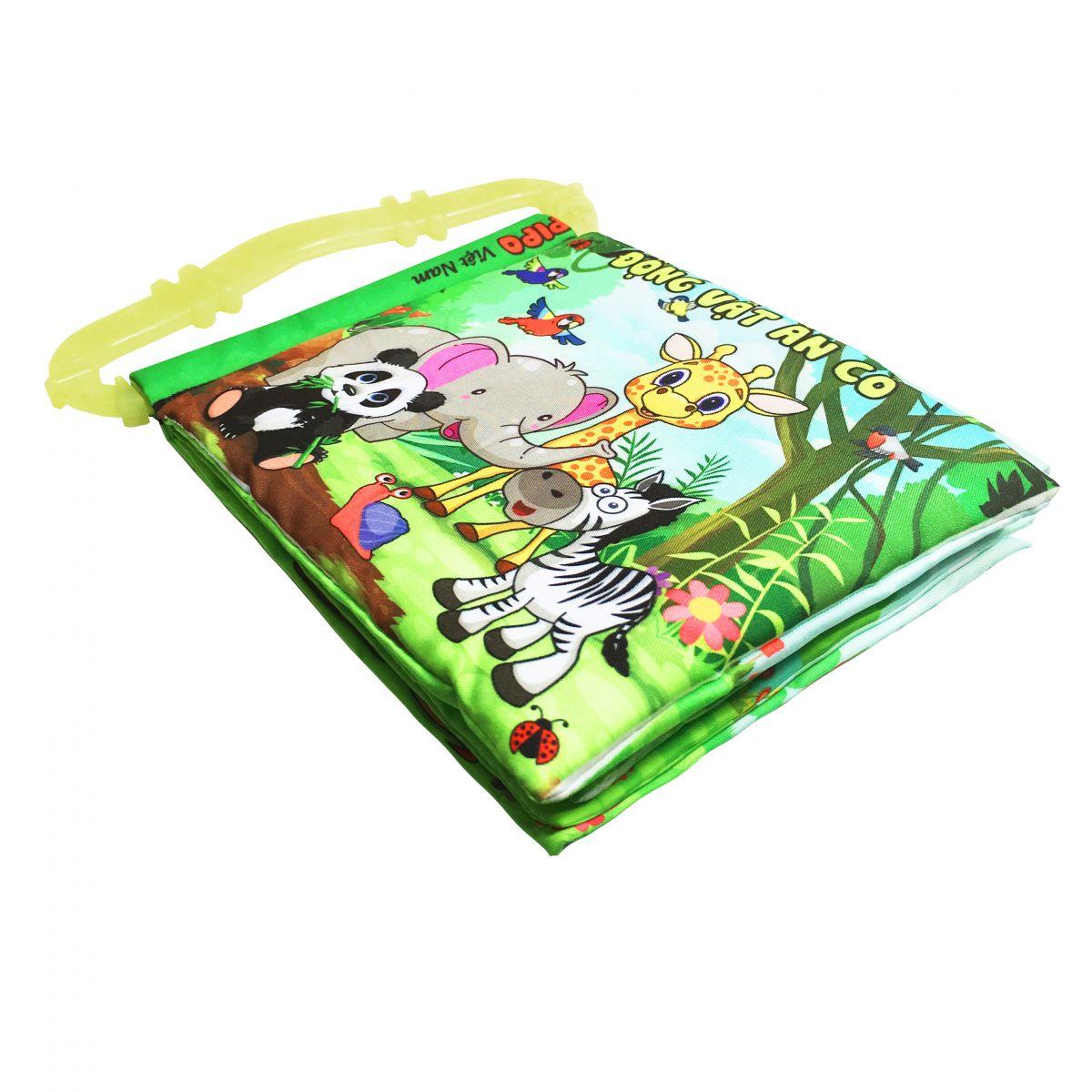 Sách vải Pipovietnam có quai - Động vật ăn cỏ