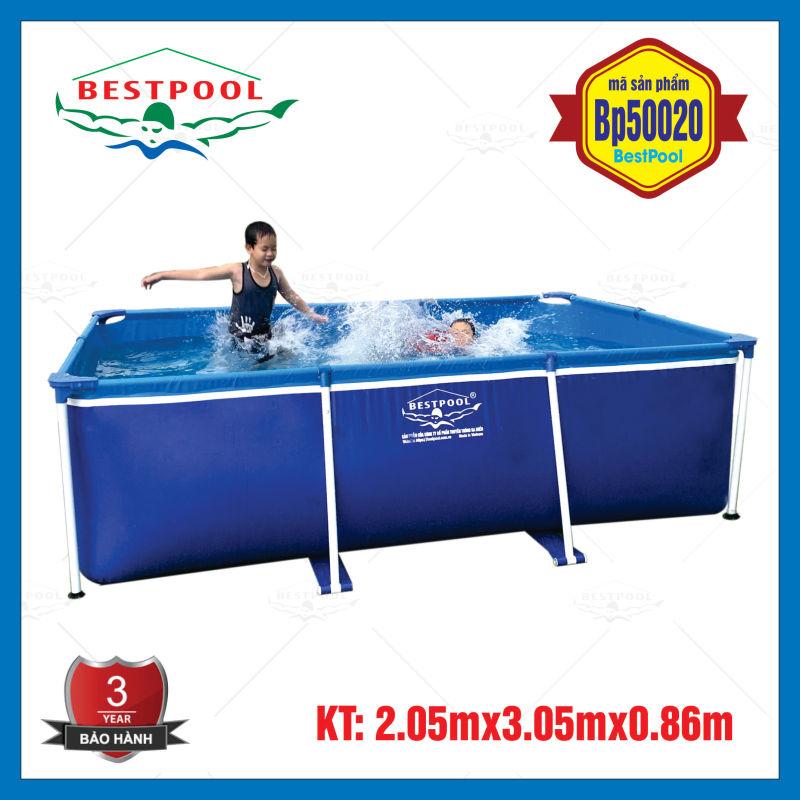 Bể bơi mini trong nhà BestPool 2.05m x 3.05m x 0.86m, bể bơi lắp ghép, bể bơi di động, bể bơi tại nhà, bể bơi cho bé