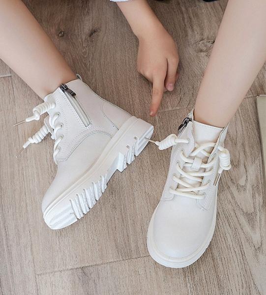 Giá bán Giày bốt bé gái khóa kéo , đế mềm , phong cách Hàn Quốc TL38