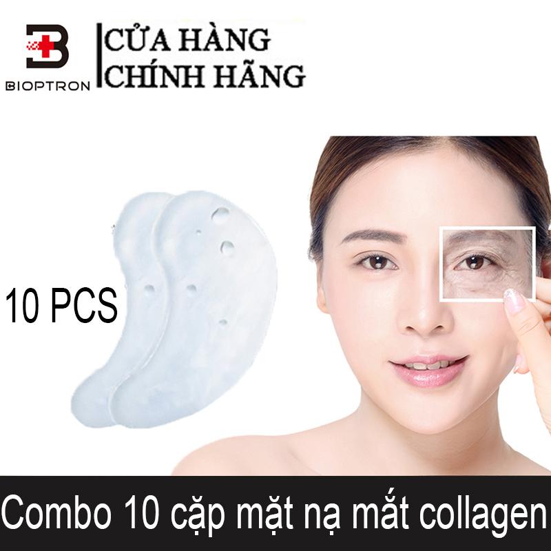 Bioptron 10 cặp mặt nạ mắt collagen Mặt nạ dưỡng mắt trị thâm/ hộp Làm sáng quầng thâm giá rẻ