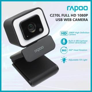 Webcam RAPOO C270L độ phân giải Full HD 1080P - Hãng phân phối chính thức thumbnail