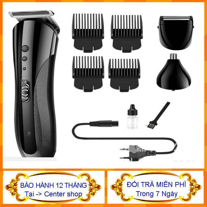 [có bảo hành] Tông đơ cắt tóc đa năng Kemei 3 trong 1 (cắt tóc - cạo râu - tỉa lông mũi) - tông đơ cắt tóc người lớn - tông đơ cắt tóc cho trẻ nhỏ - Máy cạo râu đa năng - máy tỉa lông mũi- center shop