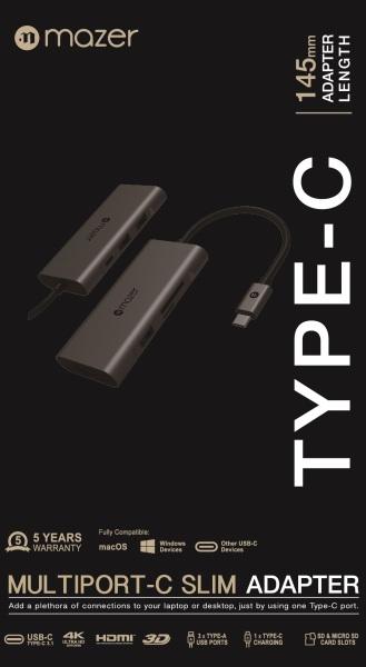 Bảng giá Cổng Chuyển Đổi Mazer USB-C 7 in 1 Charging Phong Vũ