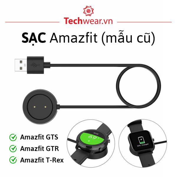 Cáp sạc đồng hồ Huami Amazfit GTS / GTR/ T-rex / Amazfit GTR 2 / GTS 2 / 2e【Hàng Xịn   Có bảo hành   Sẵn hàng】