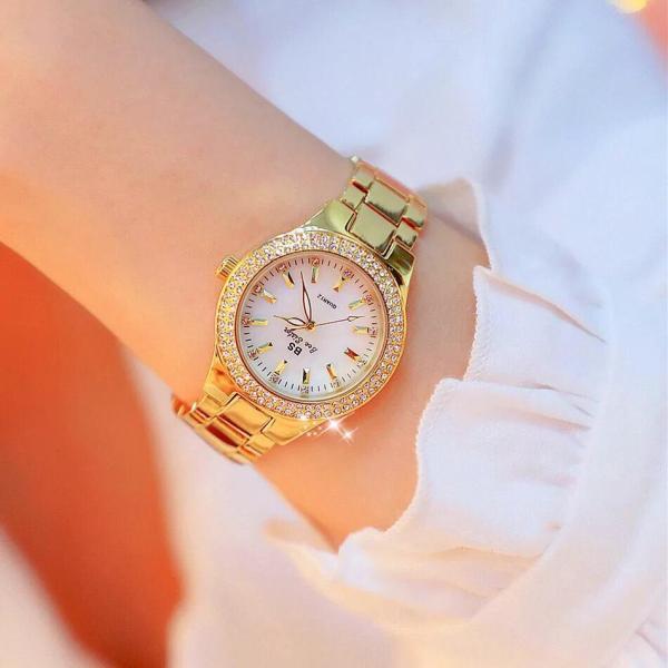 Nơi bán Đồng hồ nữ BS BEE SISTER đính đá thời trang - BS13