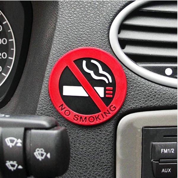 Miếng Dán Sticker No Smoking Dán Trên Ô Tô/ Xe Tải