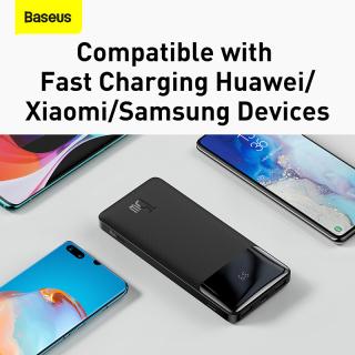 Pin sạc dự phòng Baseus dung lượng 10000mAh, màn hình LED hiển thị, công suất 15W sạc nhanh QC, PD cho iPhone, Samsung, Xiaomi,....-Phân phối chính hãng tại Baseus Việt Nam 5