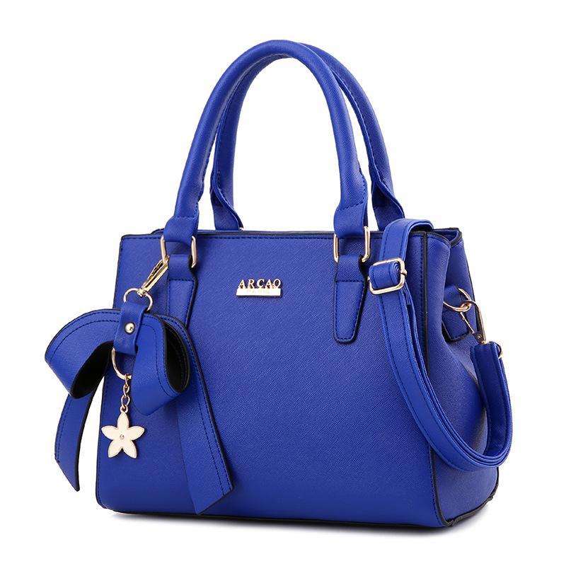 Womens Stylish Large Capacity Butterfly Knot Flower Messenger Bag (bow Handbag Black) (bow Handbag Black) By Taobao Collection.