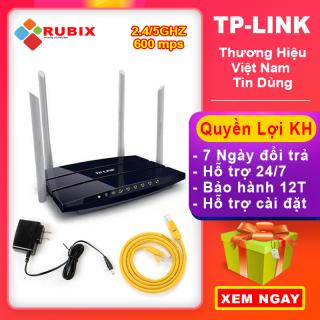 [ Tiết kiệm 300k ] Cục Phát WiFi TP-LINK bo phat wifi tplink băng tần kép , đua băng tần, tốc độ cao xuyên tường cắm vào là dùng được ngay - Bảo hành 12 tháng thumbnail