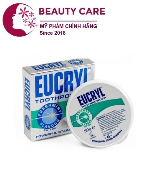 Bột tẩy trắng răng cấp tốc từ Anh Quốc EUCRYL 50g giá rẻ