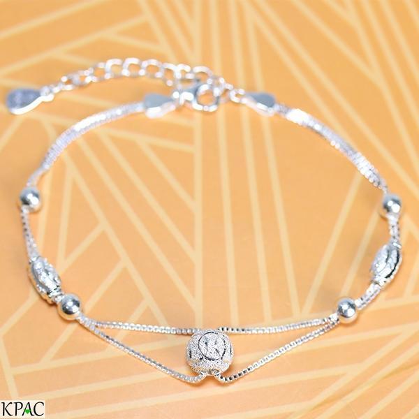 Lắc tay bạc 92.5% KPAC: Lucky charms (lu0519005)
