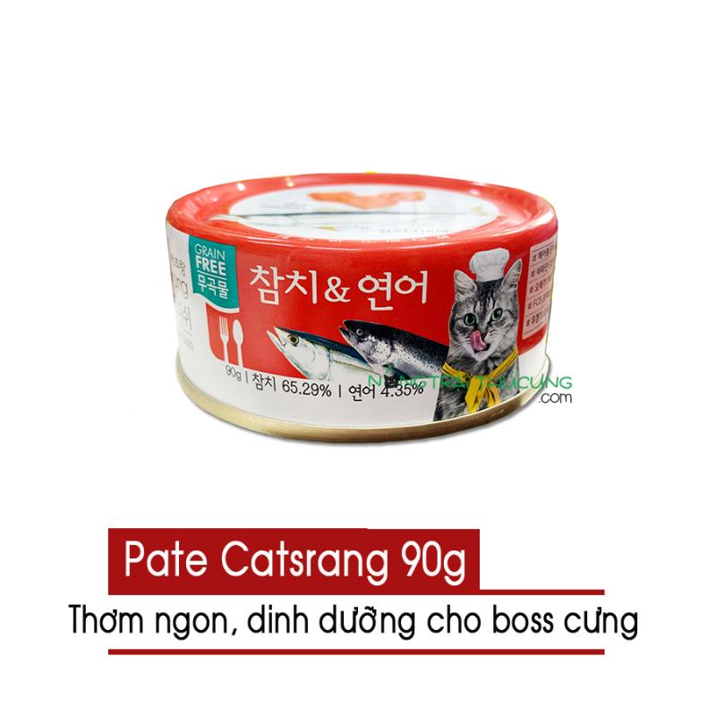 Thịt hộp - Pate Catsrang cho mèo nhập khẩu Hàn Quốc - [Nông Trại Thú Cưng]