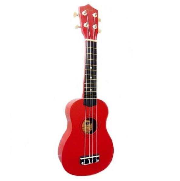 Đàn ukulele soprano size 21 màu đỏ