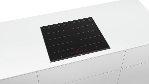 (Hàng Đức)Bếp từ Bosch PXX675DC1E Series 8, cảm ứng Flex, mà hình kỹ thuật số Topcontrol